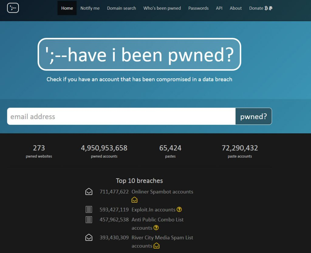 Wordpress Passwords and Haveibeenpwned com – Laskowski-Tech