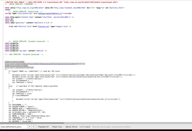 Crypto-jacking targeting vBulletin 4 2 X forums – Laskowski-Tech