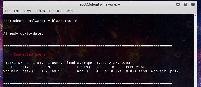 Webserver Malware Investigations – Blazescan Tutorial – Laskowski-Tech